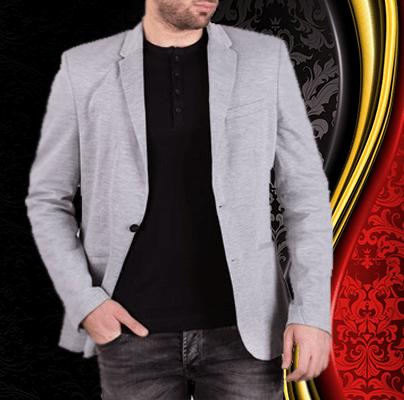 کت تک مردانه دو جیب اسپرت