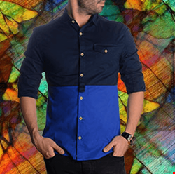 پیراهن مردانه دو تیکه
