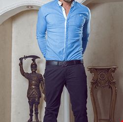 پیراهن مردانه طرح جین